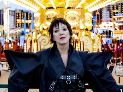 Carole Pope in vintage Vivienne Westwood by Tatijana Shoan