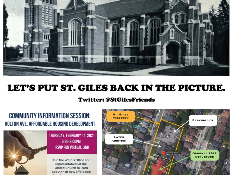 Let's put St. Giles back in the picture. @StGilesFriends
