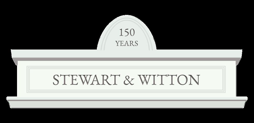 150 years - Stewart & Witton